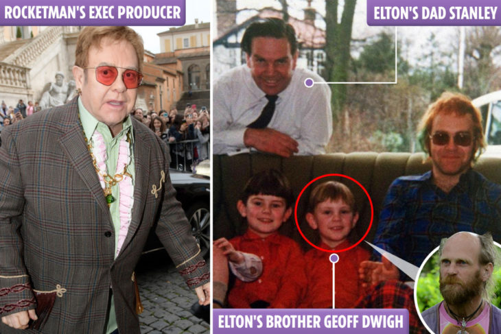Elton John's brother slams Rocketman biopic and says their dad didn't care he was gay and loved him on death bed – The Sun