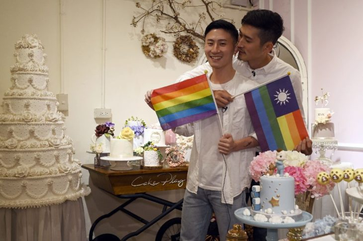 Taiwan gay couples plan weddings even as opponents fight back