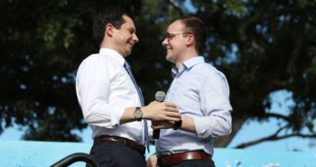 Pete Buttigieg says he will not repent for loving his husband