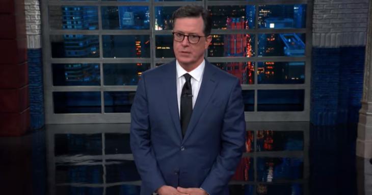 Stephen Colbert Skewers Trump's Interview With Piers Morgan