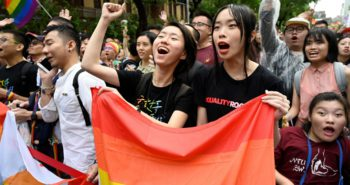 Taiwan becomes first country in Asia to legalise same-sex marriage