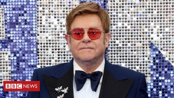 Elton John 'rejects' Russia censorship of Rocketman gay scenes