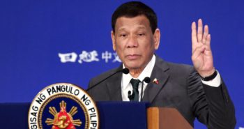 Philippine's Rodrigo Duterte says he was once gay but 'cured myself'