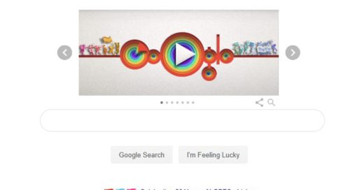 Google launches a Pride doodle, and it's getting lots of love on the internet