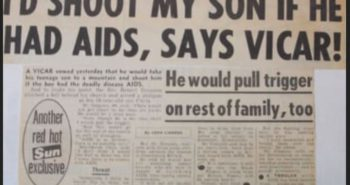 The British press used to be amazingly homophobic, and the backsliding has begun