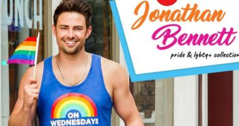 Jonathan Bennett, the actor who played Aaron Samuels, designed a 'Mean Girls'-inspired Pride apparel collection