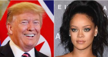 Trump mysteriously favorited a tweet describing pop star Rihanna as a 'work/life balance queen' — his first Twitter like in almost 2 years