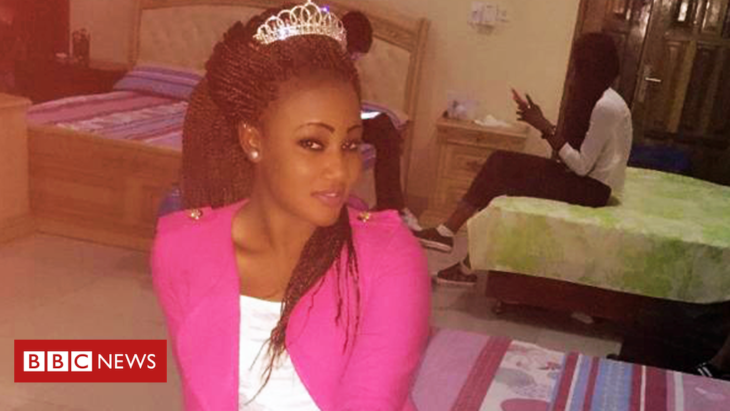 Beauty queen 'raped by Gambia's ex-President Jammeh'