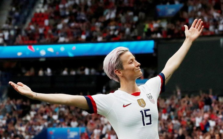 Megan Rapinoe emerges as the USA's leader by example and a catalyst for change