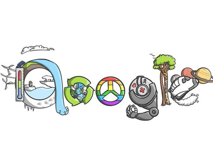 Google Doodle celebrates top five kids' comp finalists – CNET