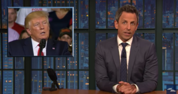 Late Night Skewers Trump Over 'Send Her Back' Rally Chant