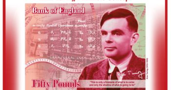The new £50 notes will feature Alan Turing (whilst HMG proposes bans on Turing complete computers AND working crypto)
