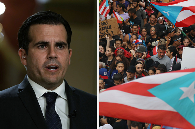Puerto Rico Governor Ricardo Rosselló Has Resigned After Weeks Of Massive Protests