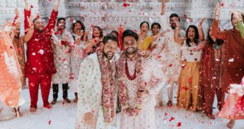 Gay Indian Couple Gets Married Traditionally In A Hindu Temple In New Jersey, Since Same-Sex Marriages Remain Illegal In India
