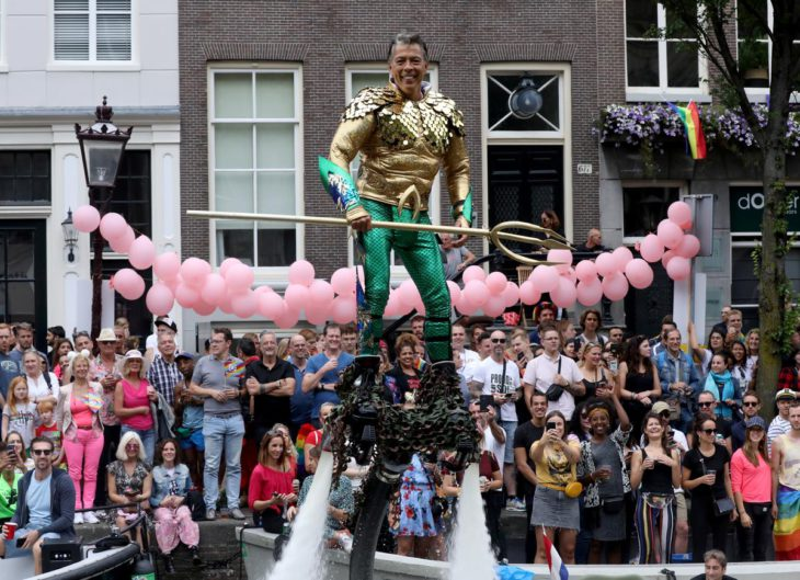Amsterdam Canal Pride parade celebrates Stonewall anniversary