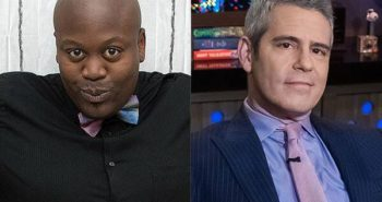 "Tituss Burgess Calls Andy Cohen a ""Messy Queen"" After WWHL Appearance"