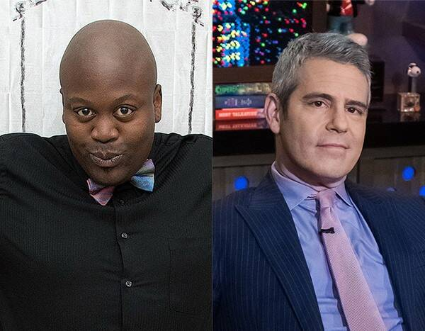 """Tituss Burgess Calls Andy Cohen a """"Messy Queen"""" After WWHL Appearance"""