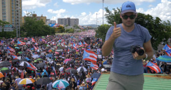 Photographing the Largest Protest in Puerto Rican History