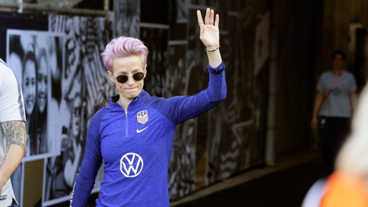 Megan Rapinoe doesn't get how her dad voted for Trump, watches Fox News and still supports her