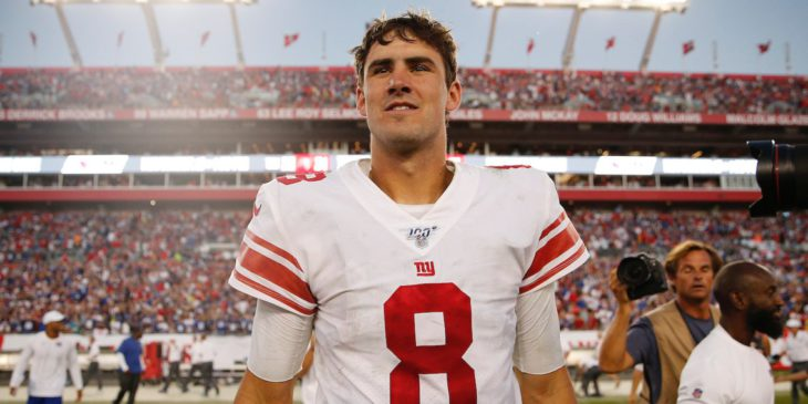 Giants rookie quarterback Daniel Jones reportedly blew away teammates with a profane message before leading the team to an impressive first win