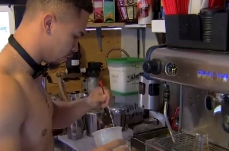 Seattle opens a shirtless coffee shop and we're suddenly craving java