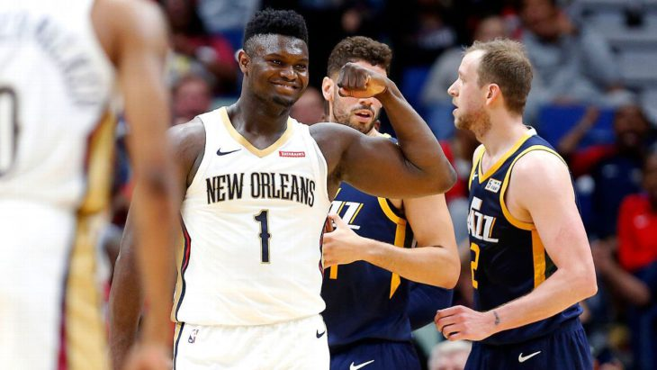 Zion 'a force' in Pelicans' preseason home opener