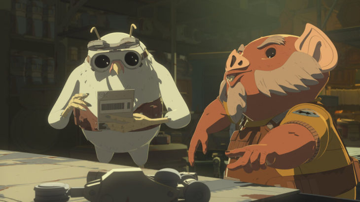 'Star Wars Resistance' Outs Orka and Flix as Franchise's First Openly Gay Couple