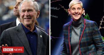 Ellen DeGeneres defends George W Bush friendship