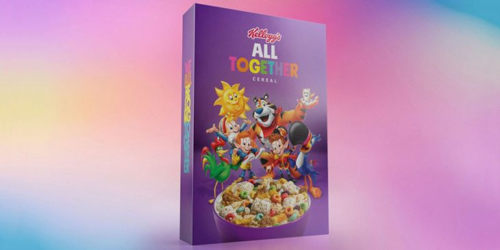"""Kellogg's Joins GLAAD's Anti-Bullying Campaign With """"All Together"""" Cereal"""