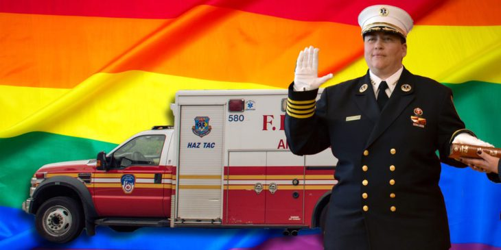 What it's like to be the FDNY's first woman and out gay EMS Chief