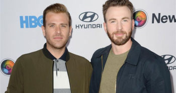 "Scott Evans and Chris Evans at the NewFest Film Festival Screening of ""Sell By"""