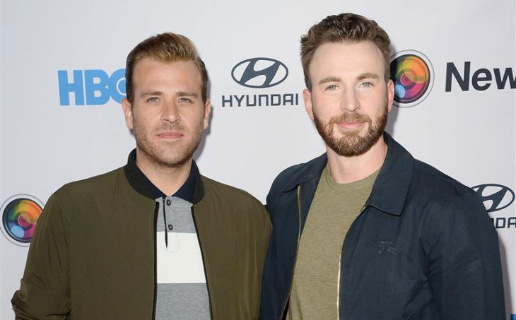 """Scott Evans and Chris Evans at the NewFest Film Festival Screening of """"Sell By"""""""