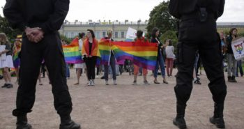 Bombs and blasphemy: Risks of watching gay art in Russia…