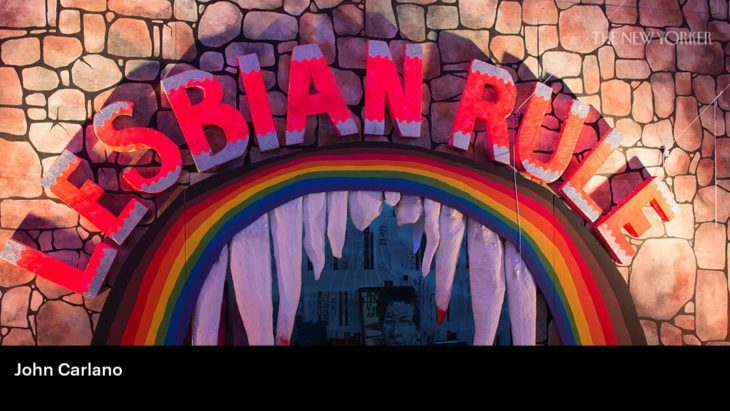 Who's Afraid of the Lesbian Haunted House?