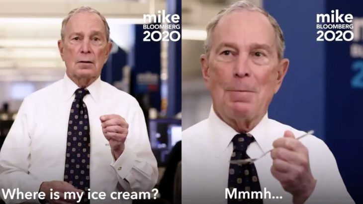 Does Michael Bloomberg Know How to Eat Ice Cream?