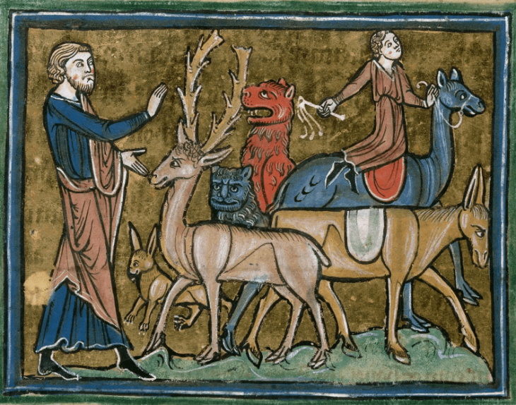 Bestiality was not socially acceptable in medieval Europe