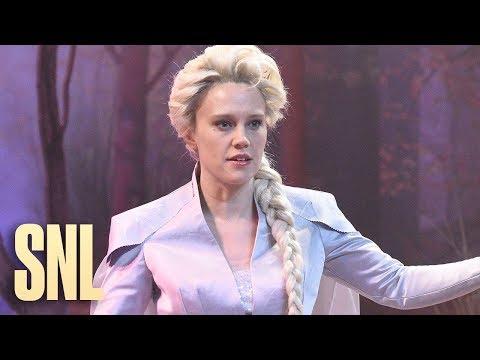 Kate McKinnon portrays Elsa as gay in SNL's 'Frozen 2' spoof