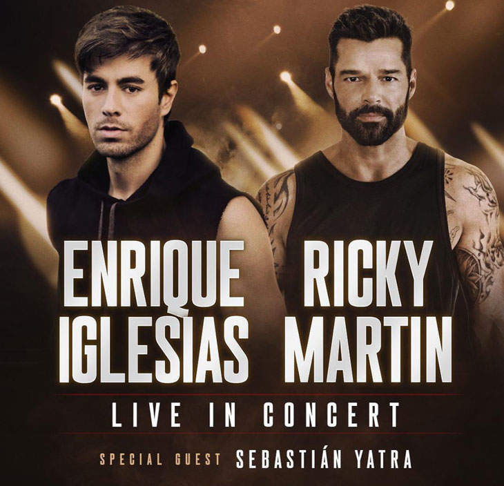 Open Post: Hosted By Ricky Martin And Enrique Iglesias' Joint Tour