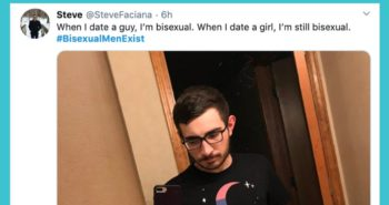 Men Are Tweeting #BisexualMenExist. Here's Why That Matters.