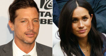 Simon Rex Says He Was Offered $70,000 By A British Tabloid To Lie About Hooking Up With Meghan Markle
