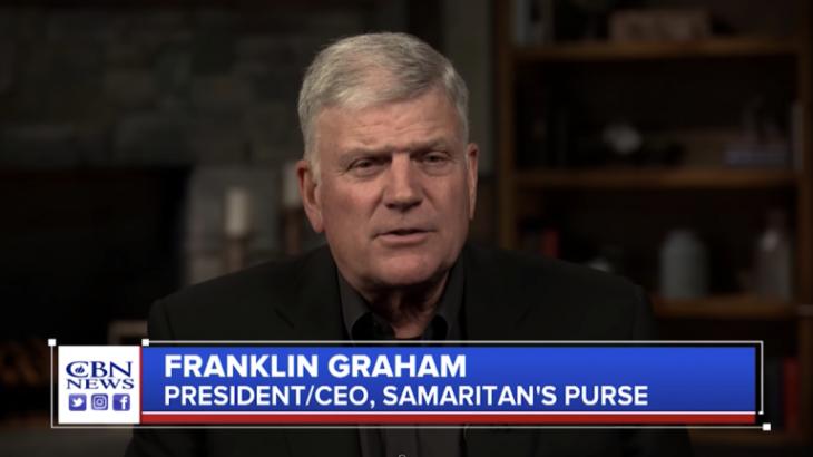 """Christian Homophobe Franklin Graham to FOX News: """"I'm Not Homophobic"""""""