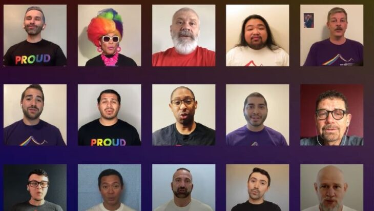 SF Gay Men's Chorus Gives Virtual Performance for COVID-19 First Responders