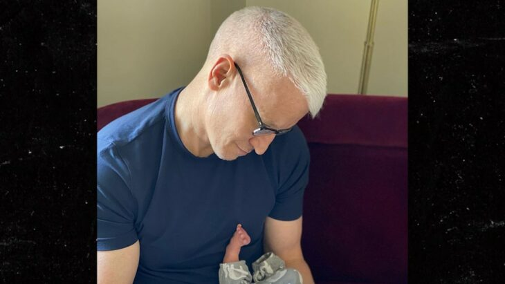 Anderson Cooper Reveals He's a Dad, Welcomes New Baby Boy