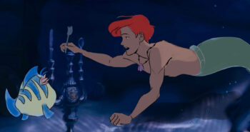 Animator reimagines 'Little Mermaid's' Ariel as a gay man