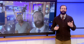 One week after network fires gay meteorologist, its other gay meteorologist abruptly calls it quits