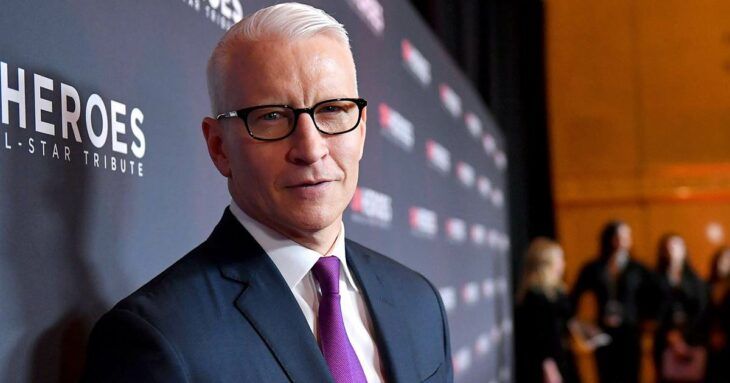 CNN's Anderson Cooper announces he's a father