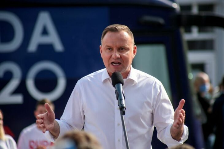 Polish president says he would ban LGBT teaching in schools