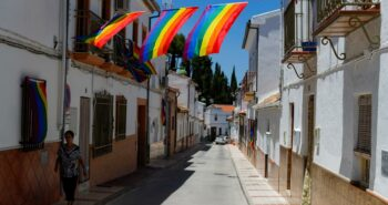 Spanish village makes its own rainbow after council's gay pride flag banned – Reuters UK