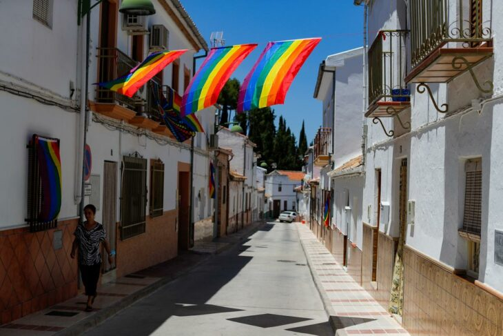 Spanish village makes its own rainbow after council's gay pride flag banned – Reuters India