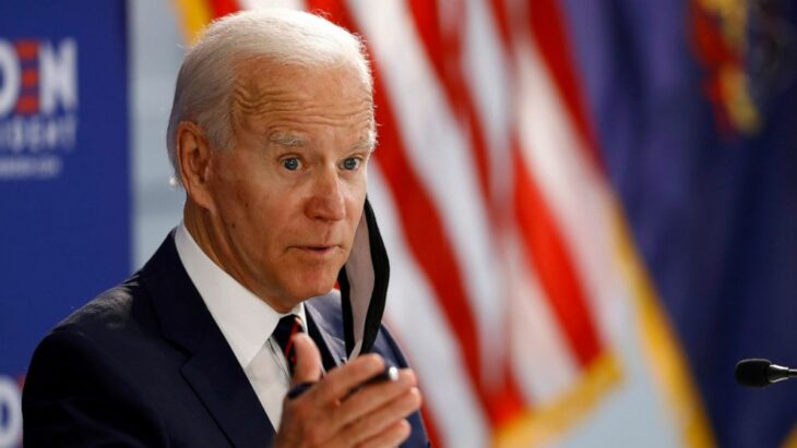 Former Army secretary backs Biden, citing 'moral leadership'